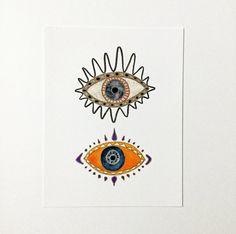 Evil Eye. Modern Boho. Decor