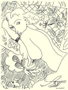 Henri Matisse, Femme se reposant