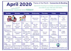Coping with Overwhelm through Connection: Free Printable Calendar - Make Social Learning Stick! Whole Body Listening, Listening To Music, Free Printable Calendar, Free Printables, Eyfs Classroom, Classroom Decor, Behavior Management, Classroom Management, Cool Calendars