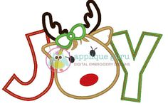 Hey, I found this really awesome Etsy listing at http://www.etsy.com/listing/171194967/joy-reindeer-girl-machine-embroidery
