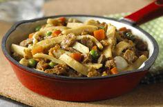 Meatless Skillet Dinner Recipe