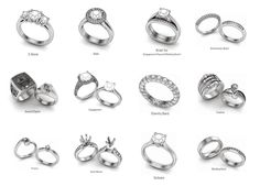 Anatomy of a Ring Lindsays Wedding Ideas Pinterest Anatomy