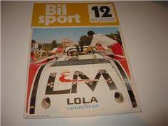 Reine Wisell (S), Lola, in the magazine Bilsport, Sweden.