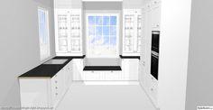 K Kitchens Ludlow Kök on Pinterest   Grey Kitchens, Grey Cabinets and White Tiles