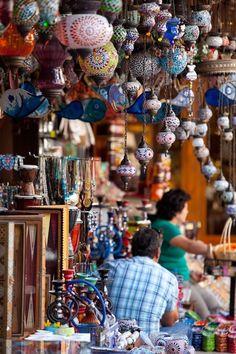 Mosaic Lanterns in Fethiye