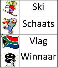 www.juf-lisanne.nl Stempelkaart 2 Olympische Spelen.