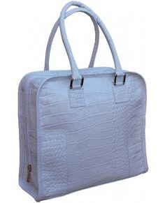 White Croco Shopper Bag 170.00€