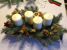 Image result for adventskranz mit getrocknetem
