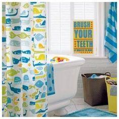 Hippo Shower Curtain 25 95 Unisex Kids Bathroom