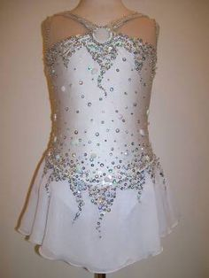 Competition Ice Figure Skating dress/Baton Twirling Leotard/Dance Made