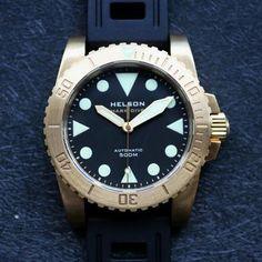 Helson Brass Shark Diver 42