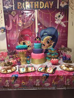 Shimmer & shine Birthday Party!