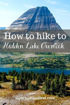 Hike to Hidden Lake Overlook on a trip to Glacier National Park. Tips for when to go, what to bring and how to avoid the crowds on the trail. National Parks Usa, Banff National Park, Rocky Mountain National Park, Travel Usa, Travel Tips, Travel Destinations, Hiking Photography, Travel Activities, The Great Outdoors