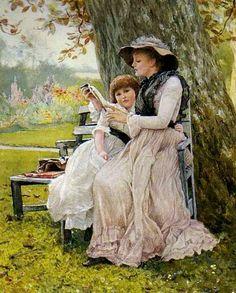 George Dunlop Leslie (1835-1921). Обсуждение на LiveInternet - Российский Сервис Онлайн-Дневников