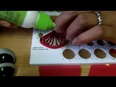 Daisy Quilling Flower and Quilling Board Guide - YouTube