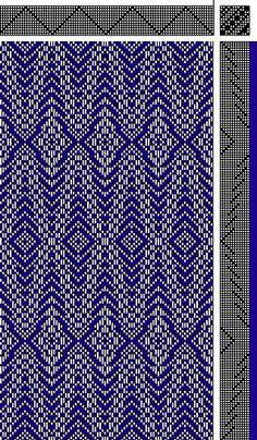 Inouye | point basket weave | 12-shaft
