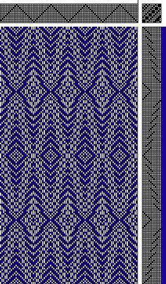 Inouye | point basket weave | 12-shaft