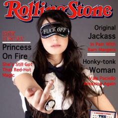 I'm a woman cover of Rolling Stone (is fake) ahha