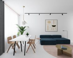 3 Light and Bright Apartments Celebrating White Space | Netfloor USA