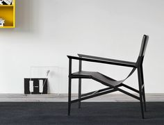 ISOTTA Leather easy chair by PIANCA