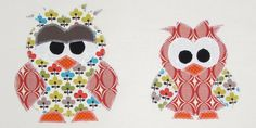 """Big Bro"" Owl Applique Template FREE Pattern"