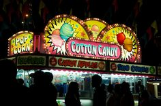 The Calgary Stampede Midway. When I was a kid I LOVED cotton candy! Junk Food, Calgary, Cotton Candy, Canada, Kid, My Love, Child, Floss Sugar, Children