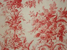 Red Toile Inspiration