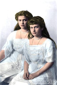 Maria and Anastasia--1913