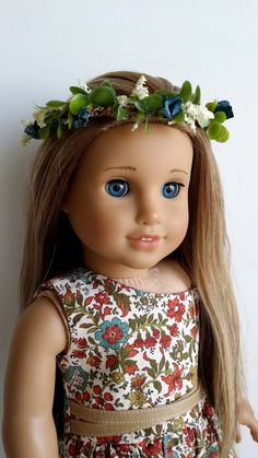 American Girl Doll Crafts and Fun!: Craft: Make a Doll Sized Flower Tiara / Crown