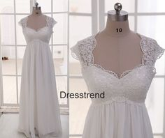 Hey, I found this really awesome Etsy listing at https://www.etsy.com/listing/173744678/white-lace-wedding-dress-straps-white