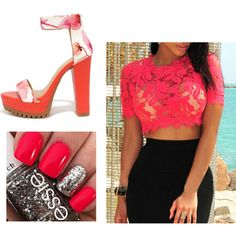 Red's by missnashty on Polyvore featuring mode