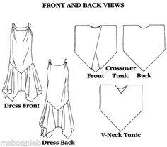 Folkwear Monte Carlo Dress & Tunic Flapper Sewing Pattern # 264 Xs-xl for sale online 1920s Dress Pattern, Tunic Pattern, Coat Patterns, Clothing Patterns, Dress Patterns, Monte Carlo, Sewing Clothes, Diy Clothes, Flapper Style