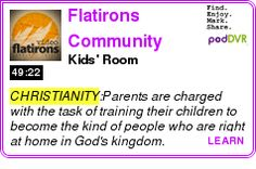 #CHRISTIANITY #PODCAST  Flatirons Community Church Video Podcast    Kids' Room    LISTEN...  http://podDVR.COM/?c=9cb281a5-7dd7-48d3-ba11-26439cfe1138
