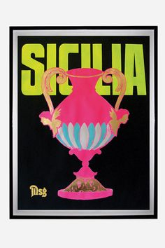 Sicilia Poster by Maurice Golotta
