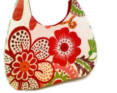 Margarita Night   Hobo Bag in  Bright Fiesta by tonilovesbuttons, $42.50