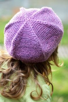 5a43454094c8f Queenie tam beret PDF knitting pattern (instructions)