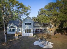 Located in Haig Point on Daufuskie Island, this beautiful custom home has unique features that provide a picture frame to the lake it sits on. Watch for it on an upcoming episode of HGTV's Island Life!