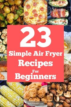 Here's 23 Simple air fryer recipes perfect for beginners who just bought a new air fryer. These easy recipes are perfect for keto diet and low carb diet as well. dinner for beginners 23 Simple Air Fryer Recipes For Beginners Air Fryer Recipes Appetizers, Air Fryer Oven Recipes, Air Fryer Dinner Recipes, Recipes Dinner, Best Baked Potato, Air Fryer Baked Potato, Air Fryer Chicken Thighs, Air Fryer Review, Air Frier Recipes