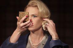 "Betty Draper (January Jones) on Mad Men from the episode ""Tomorrowland""."