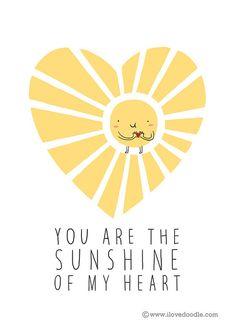 Sunshine of my heart - Happy drawings :)