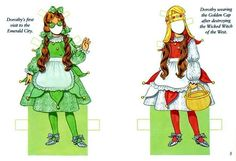 dorothy of Oz - Bobe Green - Picasa Web Albums Original Wizard Of Oz, Dolls Film, Dorothy Wizard Of Oz, Film Paper, Bobe, Book Activities, Paper Dolls, Alice In Wonderland, Coloring Pages