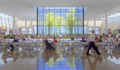 NorthPark Center. Architect Mark Dilworth, AIA, Omniplan … One of our tenants and designers of our new lobby.