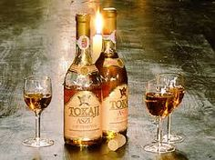 "Tokaji aszú- Tokaj is  the Hungarian form for the name of the wines from the Tokaj wine region. This region is noted for its sweet wines made from grapes affected by noble rot, a style of wine which has a long history in this region. The ""nectar"" coming from the grapes of Tokaj is mentioned in the national anthem of Hungary."