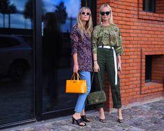 Thora Valdimars and Jeanette Friis Madsen