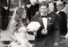 Actor Jensen Ackles and Danneel Harris's Wedding