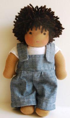 Waldorf Boy doll  poupée  puppe