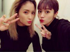 Yurino & Kaede // Happiness twitter - 23.11.2016