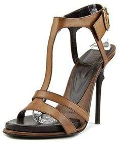 Roger Vivier Sandal Epin' Elle T.110 Open-toe Leather Heels.