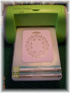Tutorials: Using plastic stencils in the cuttlebug  ... wonder if you can use the regular rubber sheets for embossing? ...