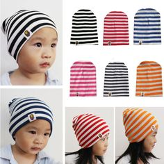 Click to Buy    Newest Girls Boys Baby Kids Striped Star Bee Crochet  Earflap Hat Beanie Winter Snow Cap  Affiliate  b550bb9cca0a